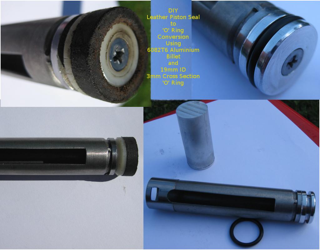 ASI Sniper/Gamo Expo  177 O-Ring Conversion